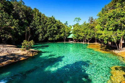 Tours in Krabi Jungle Tour Hot Spring Emerald Pool