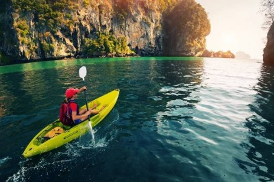 Tours in krabi one day Kayaking Thalane