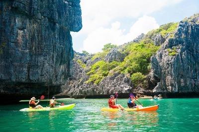 Full day kayaking at Koh Samui