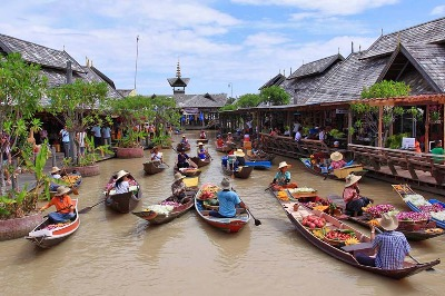 Pattaya Floating Market Tour
