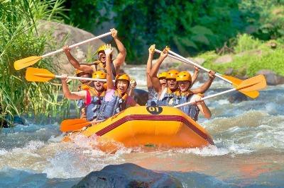 white water rafting program B Phuket