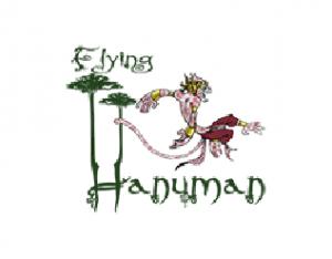 Flying Hanuman Logo