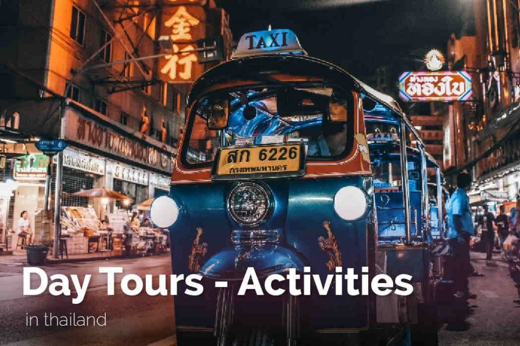 Thailand Tour Operator day tours and activities