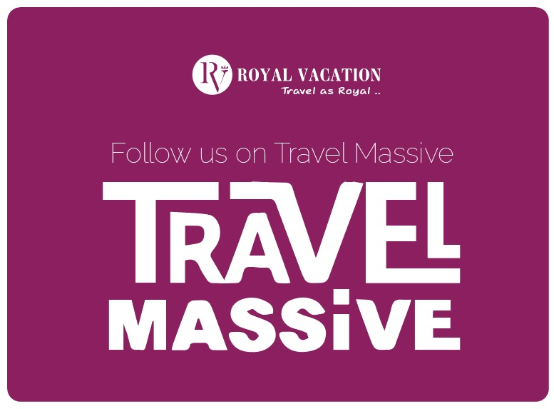 Follow Royal Vacation on Travel Massive