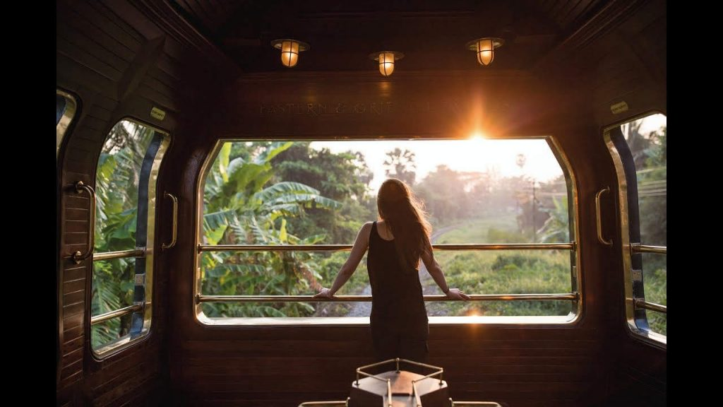 Luxury Train Experience Thailand