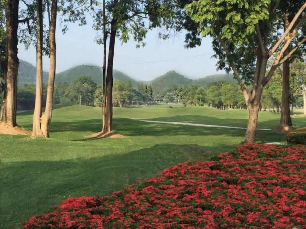 Golf Quarantine Sawang resort petchaburi Thailand ASQ1