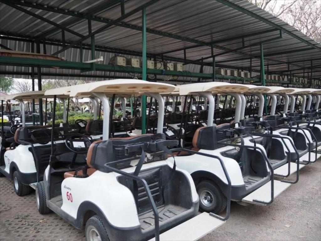Golf Quarantine Sawang resort Thailand