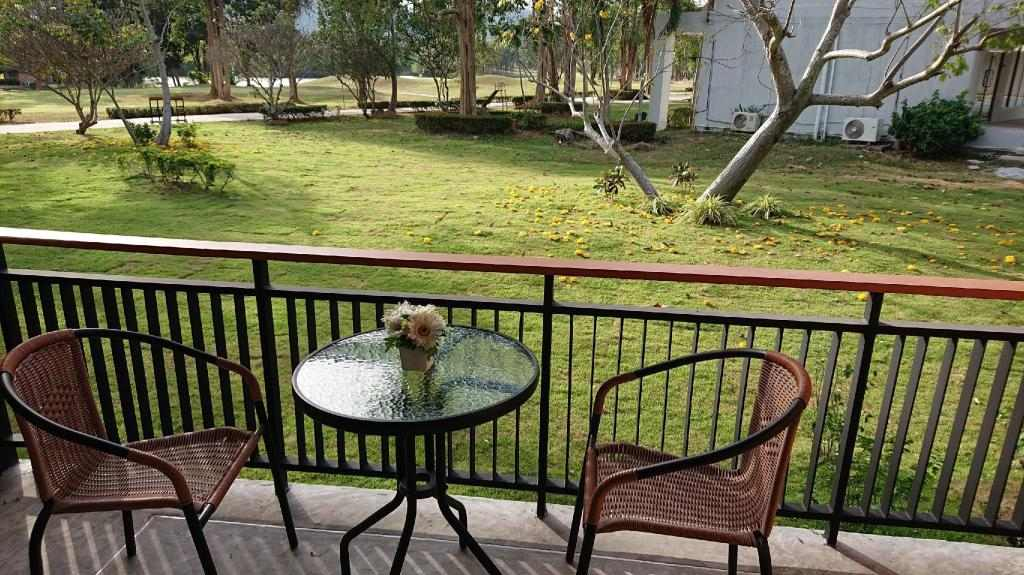 Golf Quarantine Sawang resort petchaburi