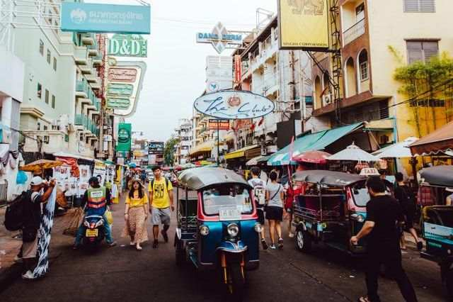 khao san road thailand