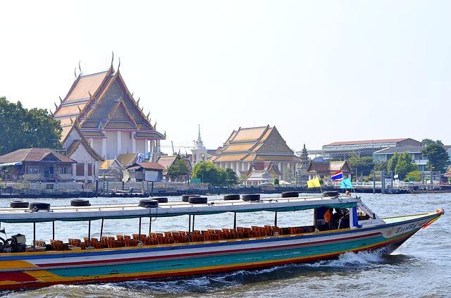 River Taxi Bangkok Thailand