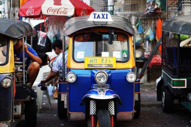 Tuktuks Bangkok Thailand